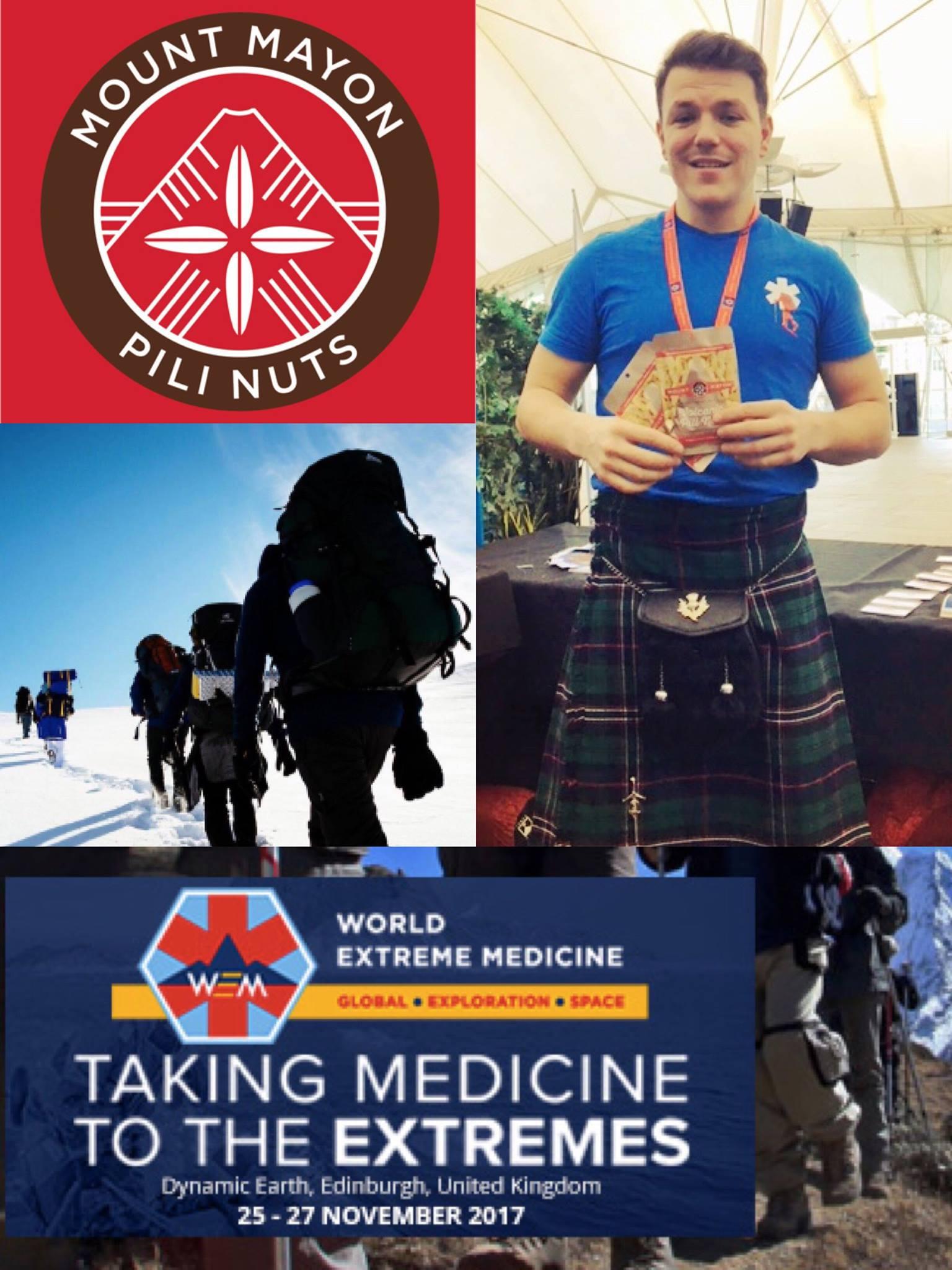 World Extreme Medicine & Mount Mayon Pili Nuts