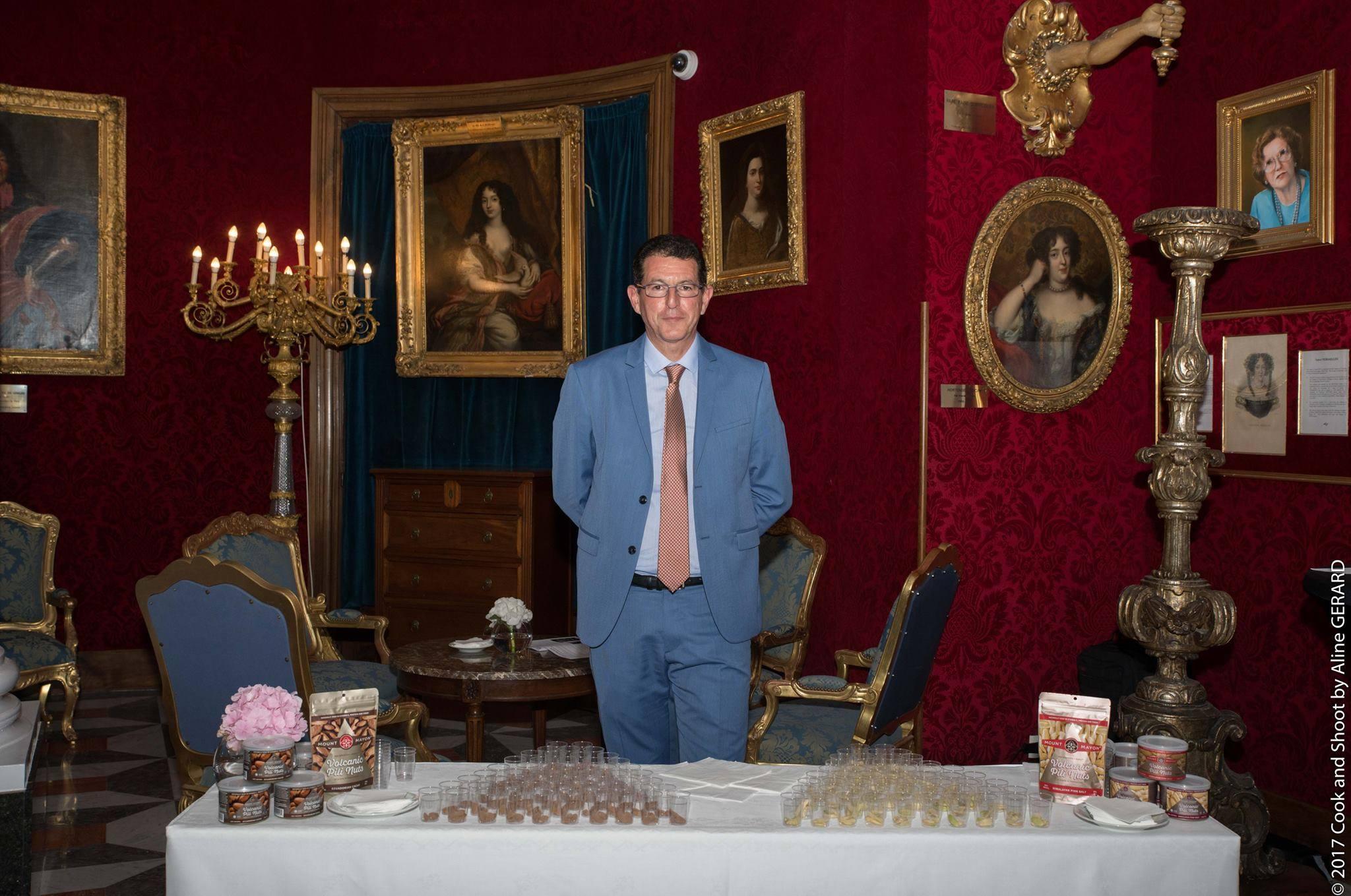 Meilleurs Ouvriers de France Cote d'Azur 2017 Gala Dinner and Mount Mayon Pili Nuts