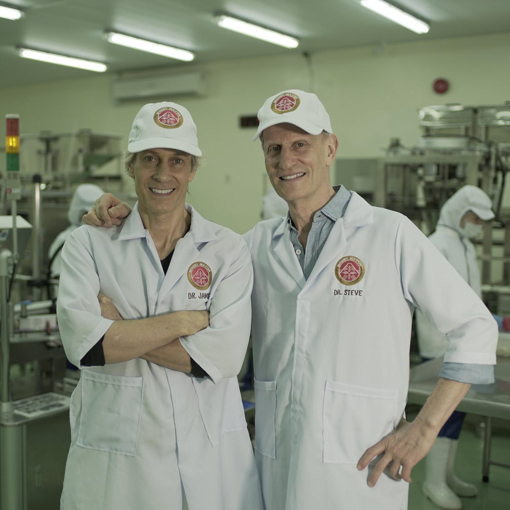 Dr. James & Steve