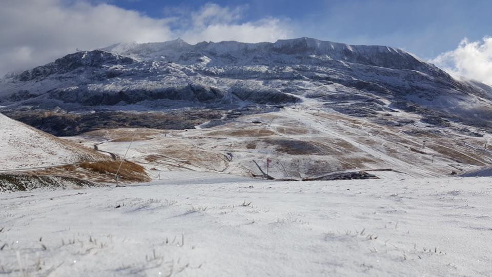 First Snowfall Alpe d'Huez