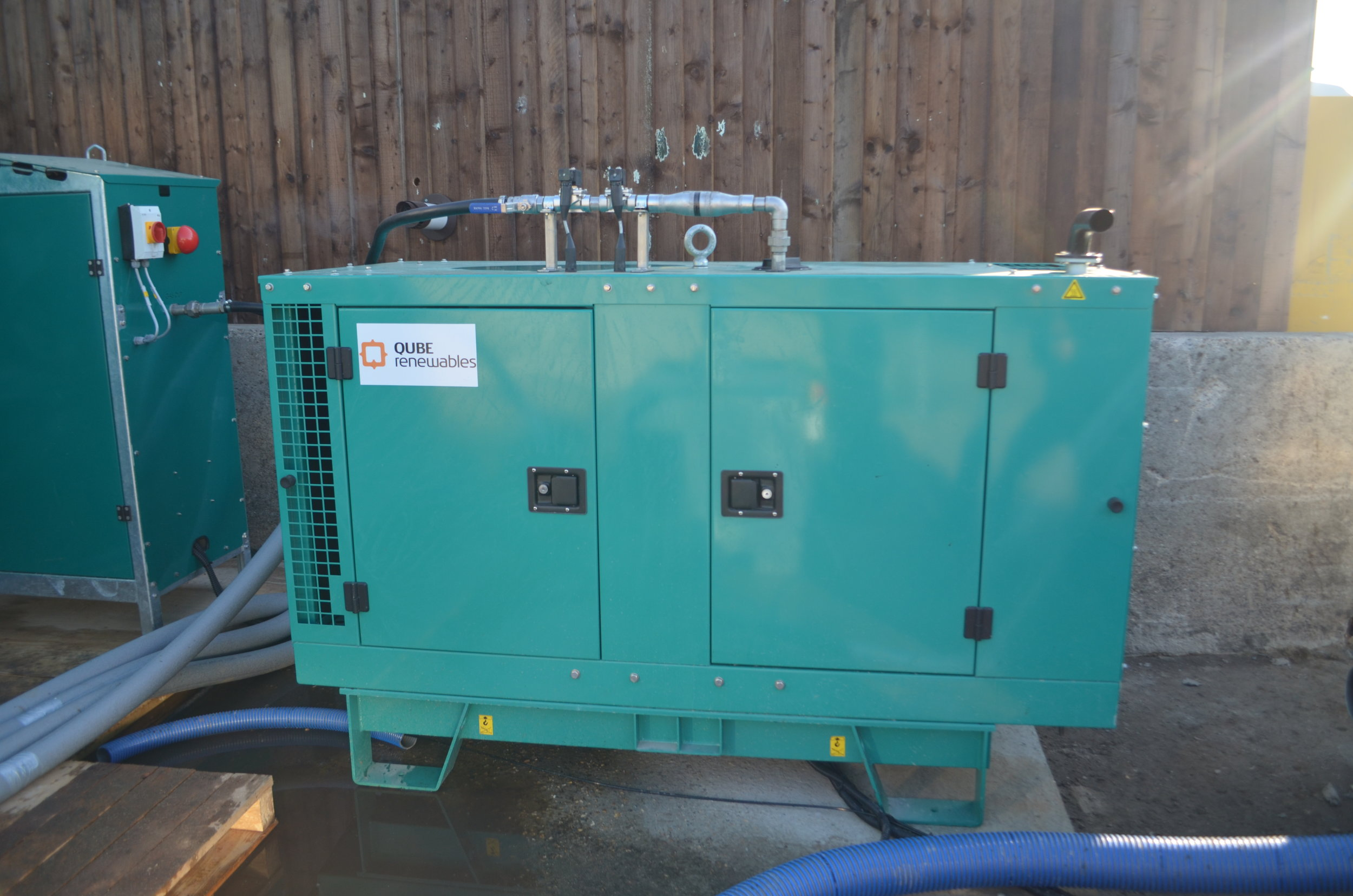 Copy of 15kW powerQUBE CHP in Lakenheath