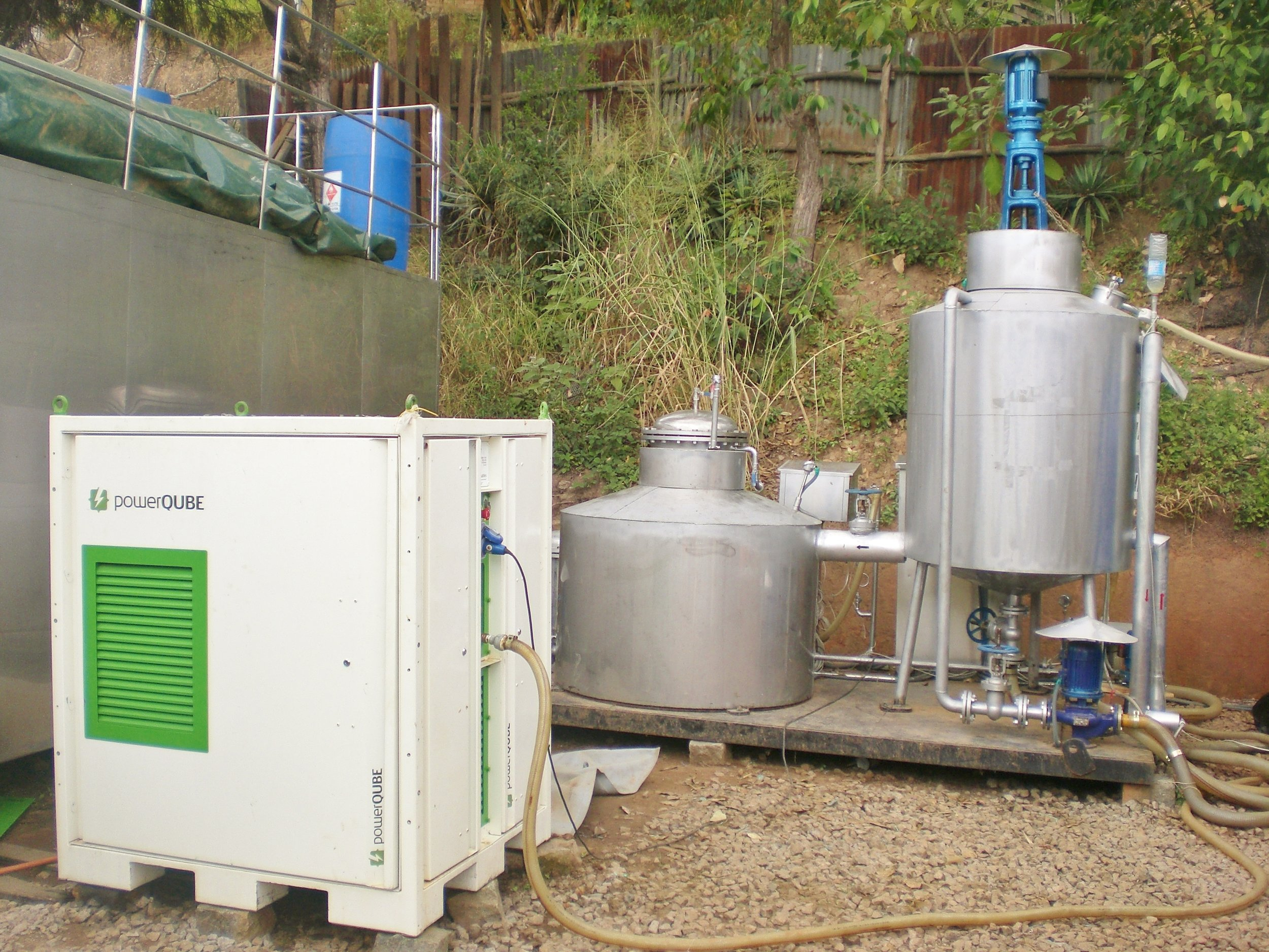 Copy of CHP providing electricity in Madagascar