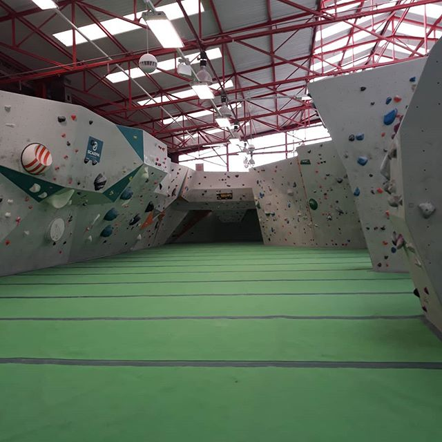 Pre-training climbing session...so pre-training training??