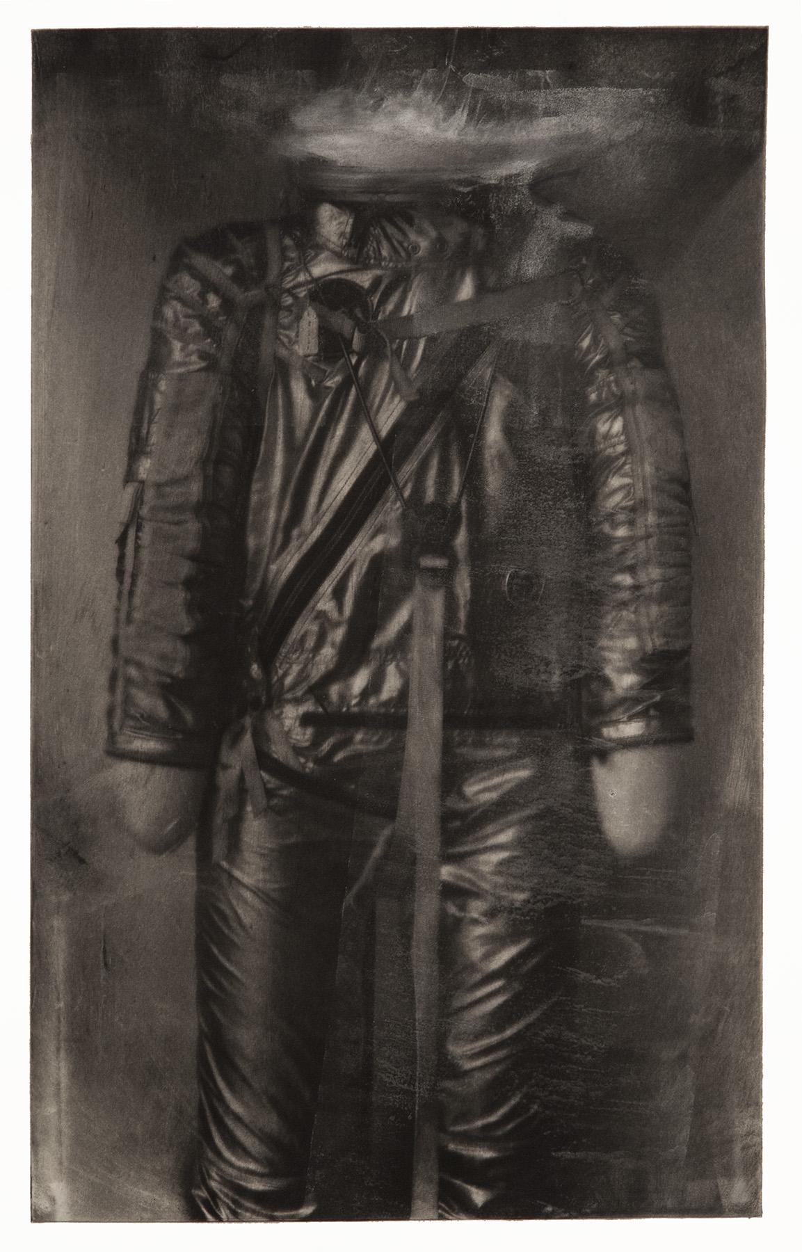 Mercury Space Suit - Monoprint
