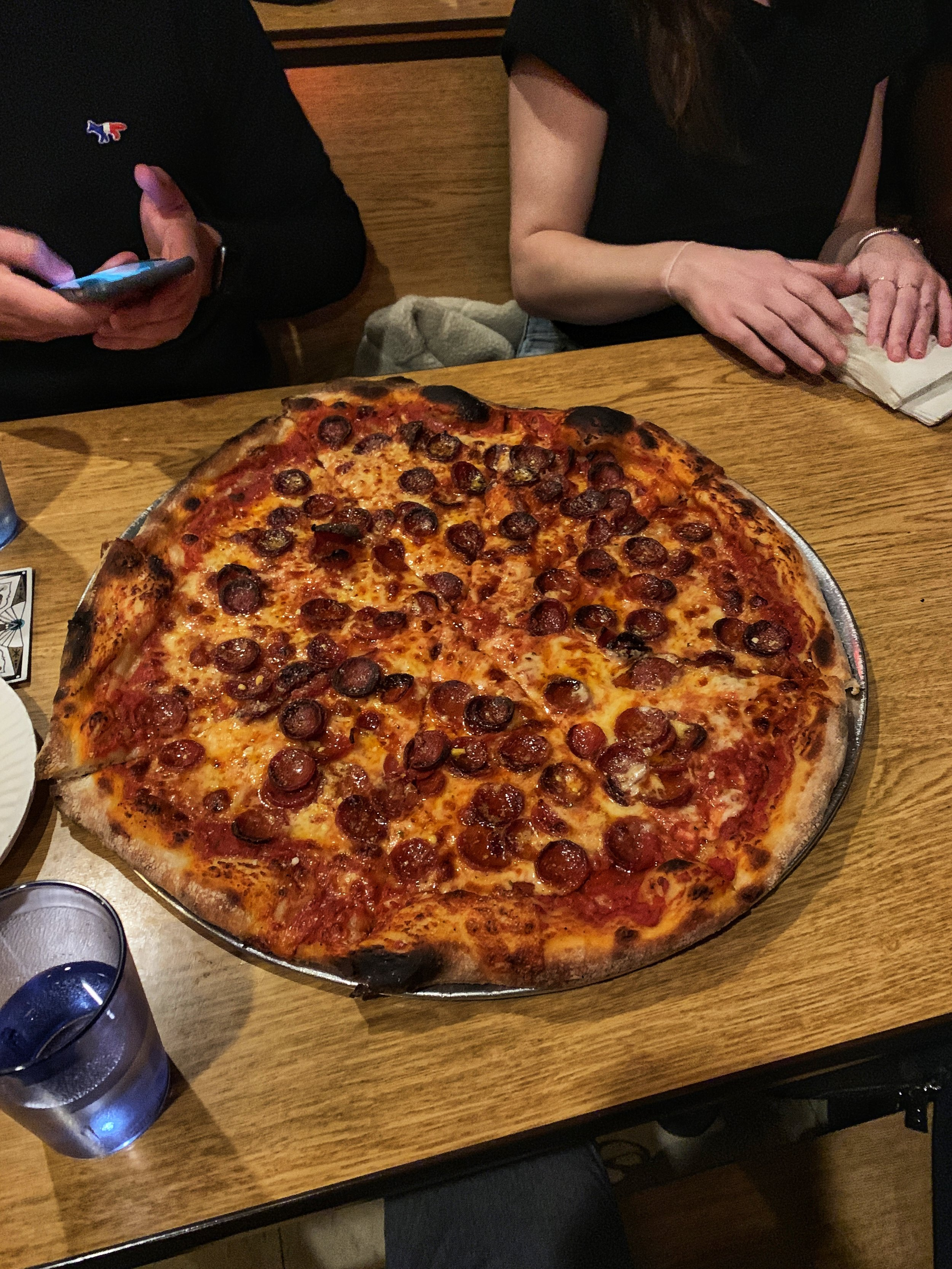Life is better with pizza. And friends too, I guess.