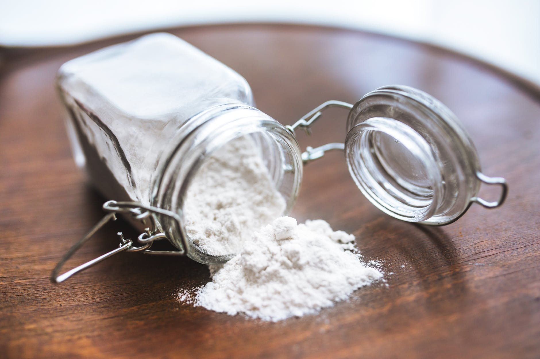 Use corn starch instead of talcum powder