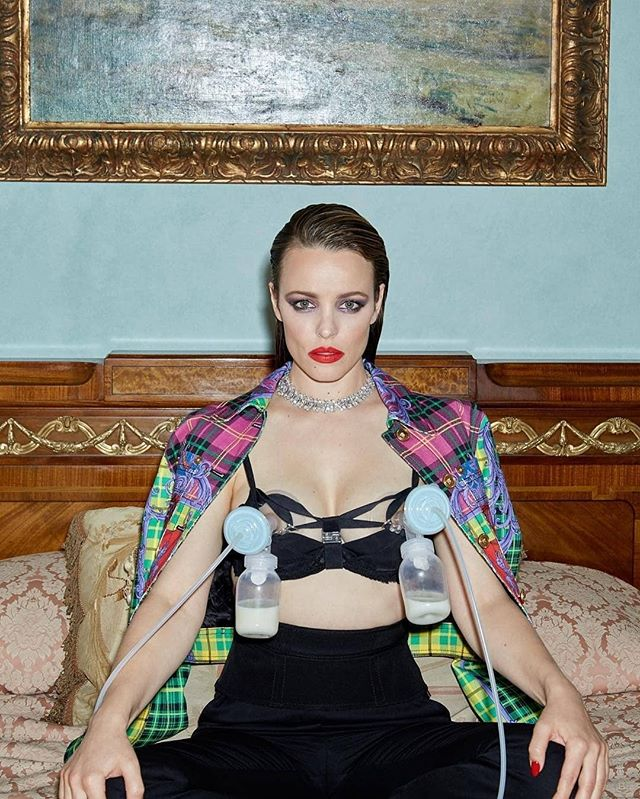 How's this for empowerment?My favorite part is that the bottles are not evenly filled! What is your favorite part?#Repost @clairerothstein・・・A million reasons why I wanted to post this picture. Obviously #rachelmcadams looks incredible and was quite literally the dream to work with but also this shoot was about 6 months post her giving birth to her son, so between shots she was expressing/pumping as still breastfeeding. We had a mutual appreciation disagreement about who's idea it was to take this picture but I'm still sure it was hers which makes me love her even more. Breastfeeding is the most normal thing in the world and I can't for the life of me imagine why or how it is ever frowned upon or scared of. I don't even think it needs explaining but just wanted to put this out there, as if it even changes one person's perception of something so natural, so normal, so amazing then that's great. Besides she's wearing Versace and Bulgari diamonds and is just fucking major. Big shout out to all the girls 💪🏽#rachelmcadams for @girls.girls.girls.magazine cover shoot 📸 @clairerothstein #pleaseshare Side note: I did not look anywhere near as fabulous as this when feeding/pumping. And that's ok too. ..#girlsgirlsgirlsmag #girlsgirlsgirls #bringingbackthewoman #nogrungejustglamour #independentmagazine #printisnotdead #normalisebreastfeeding #breastfeeding #life #women #versace #bulgari⁣ ⁣ #Regram via @thebramptondoula #postpartum #normalizebreastfeeding #doula #breastfeed #breastpump #postpartumjourney