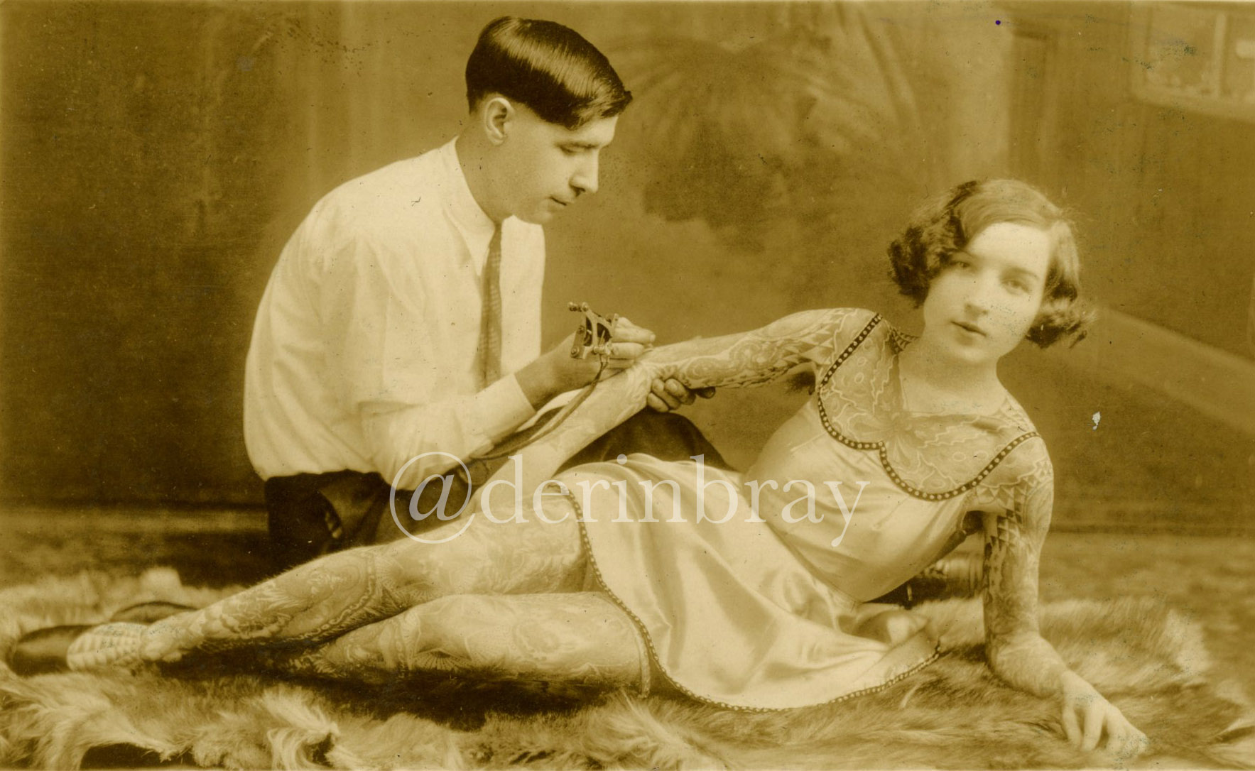 Deafy and Stella Grassman, Philadelphia, PA, ca. 1925