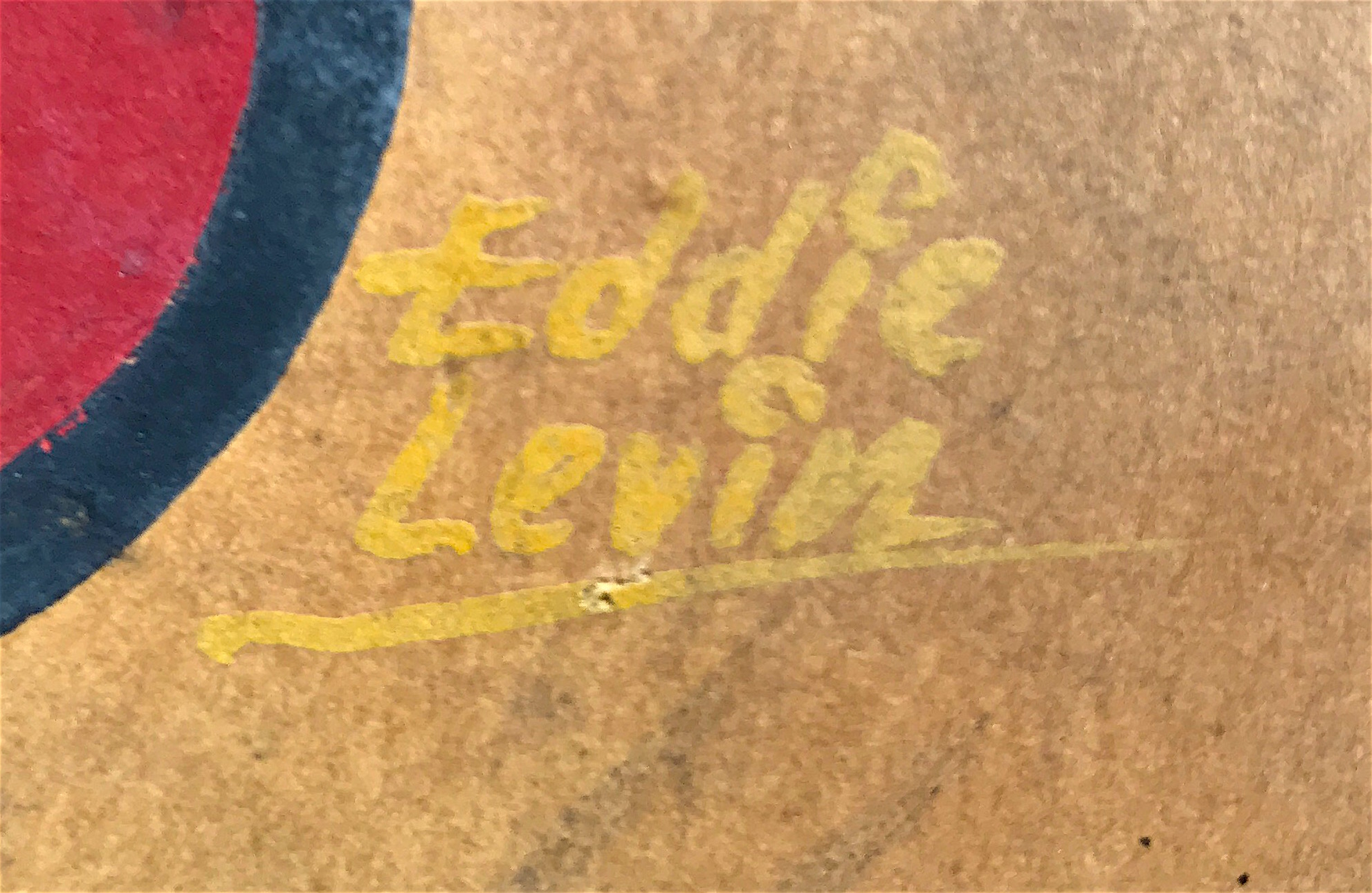 Eddie Levin Baltimore Sign Painter Cartoon