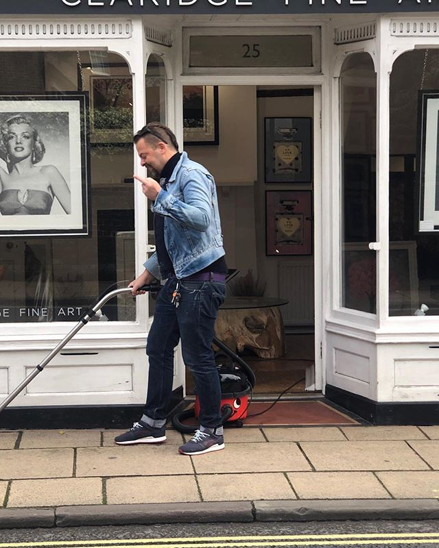 Yes henry and I vacuum the streets of Winchester