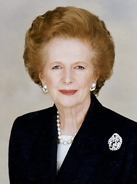 Iron Lady Margaret Thatcher