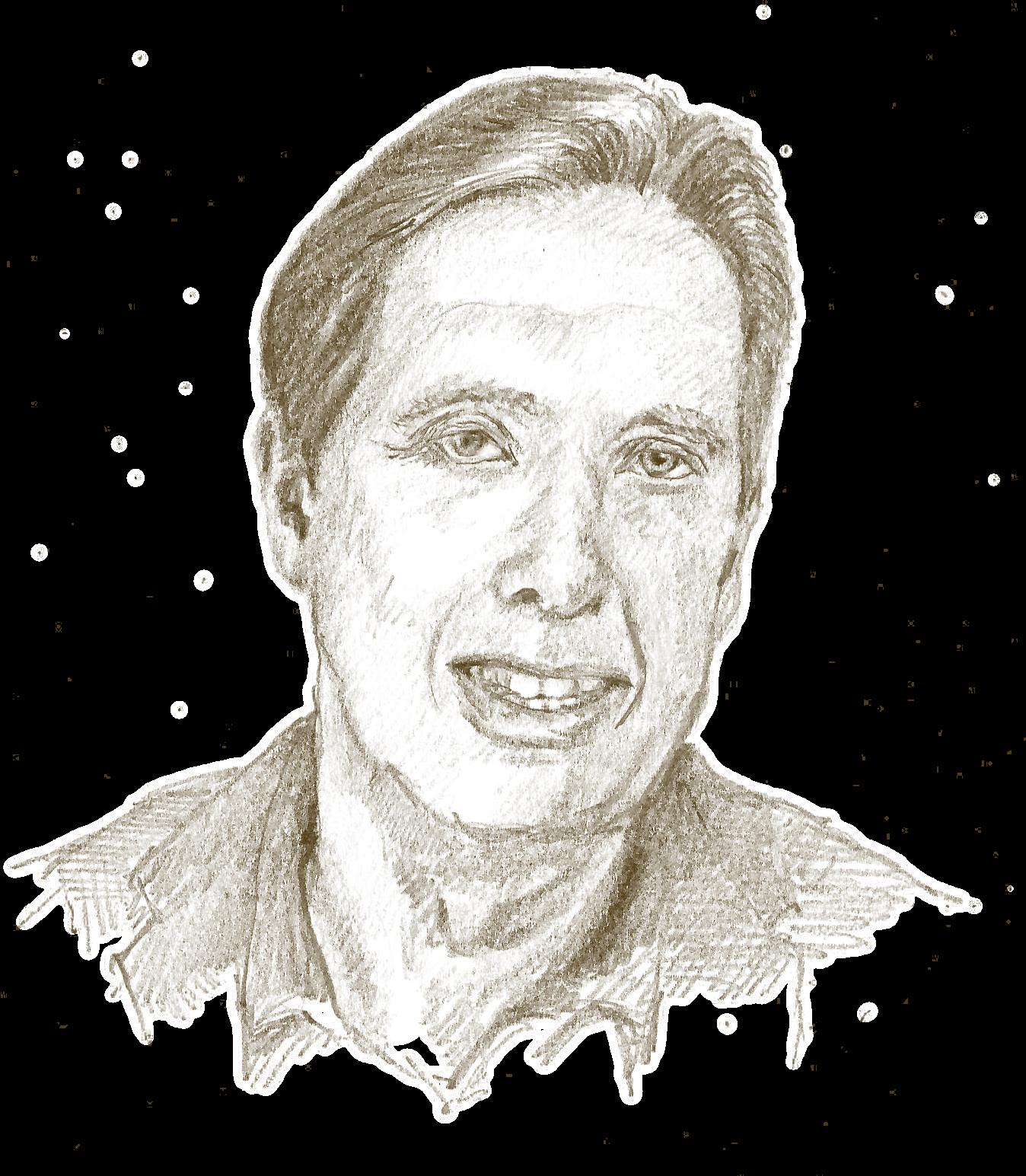 Jan Rotmans (portret door Stefaan Claeys)