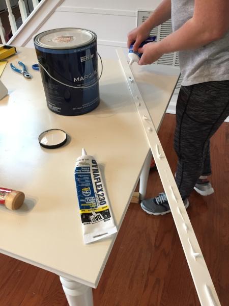 installing horizontal board and batten.JPG