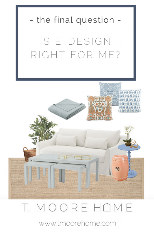 how to work with an interior designer for edesign