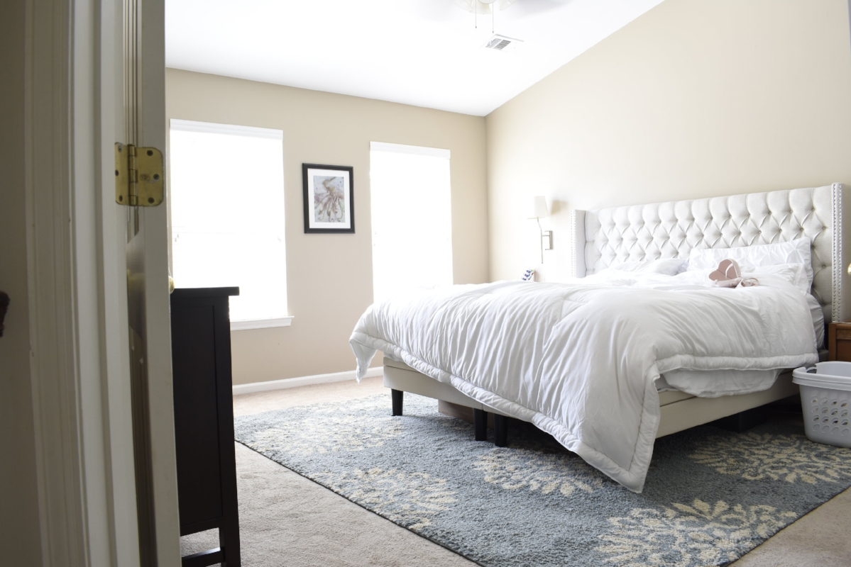 neutral calm master bed room plan #masterbedroom #bedroominspiration
