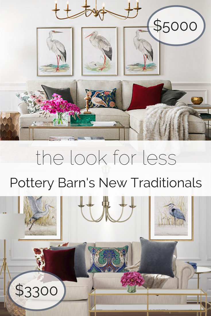 get the look for less pottery barn style on a budget