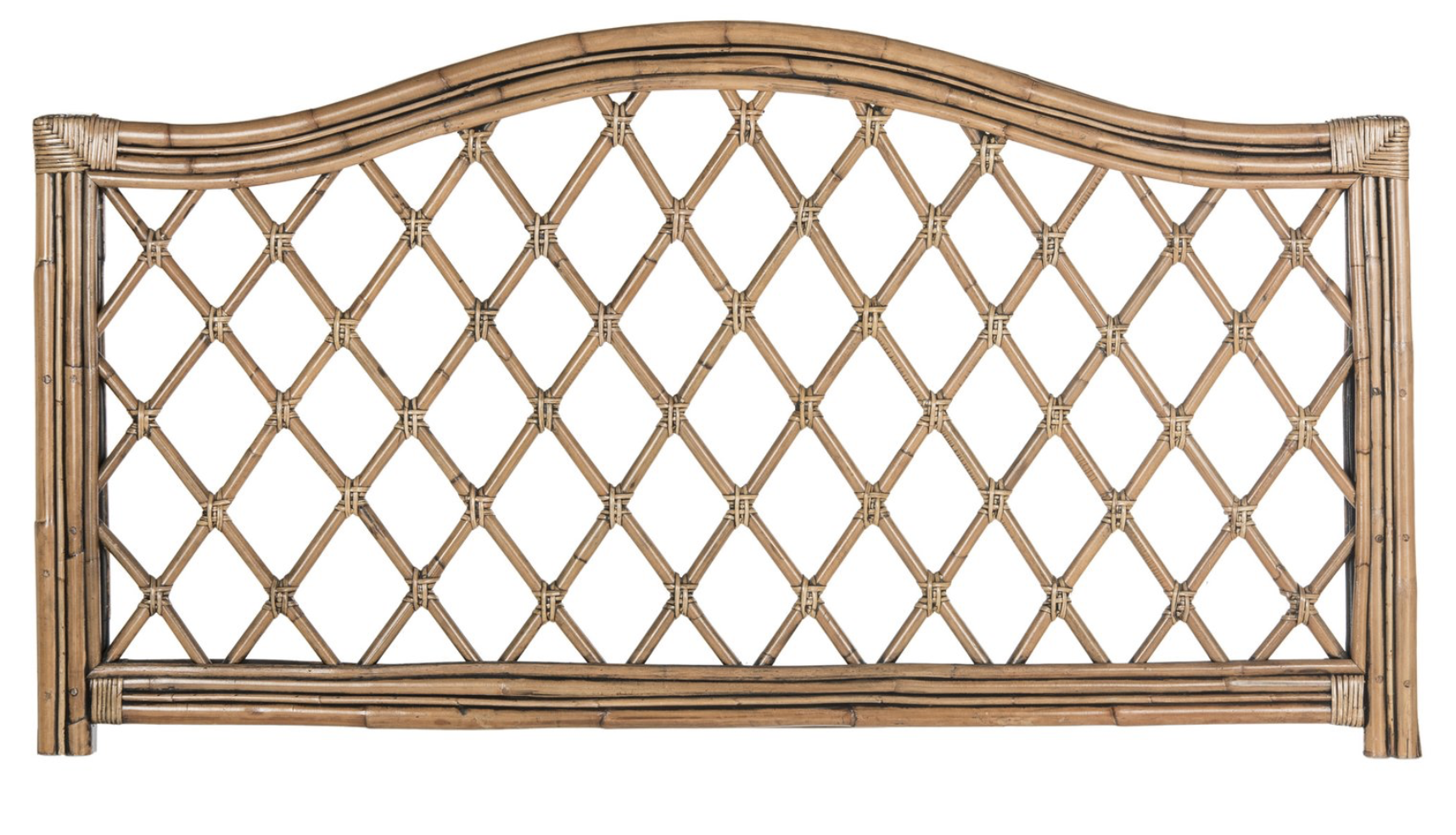 rattan headboard affordable Serena and lily style