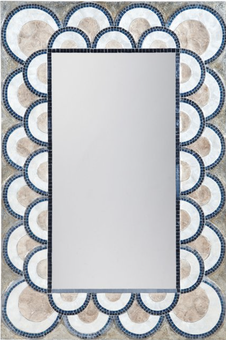 Cadiz shell mirror Serena and lily affordable