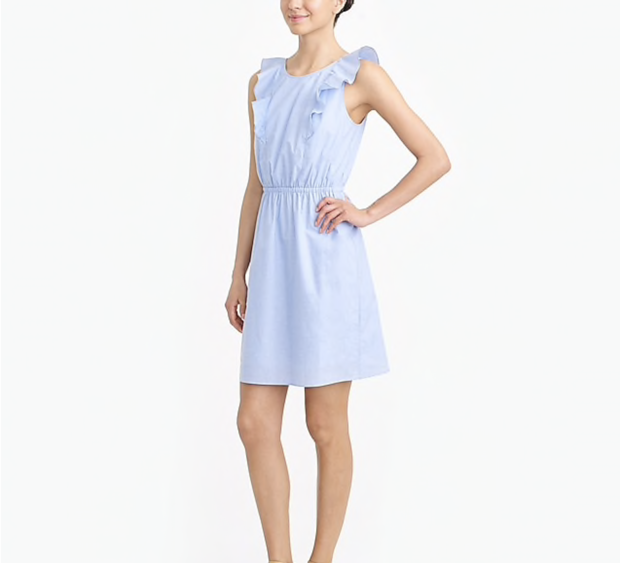 best fashion deals fresh blue cotton dress