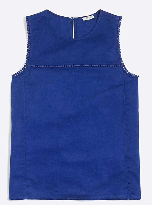 the perfect cobalt blue blouse