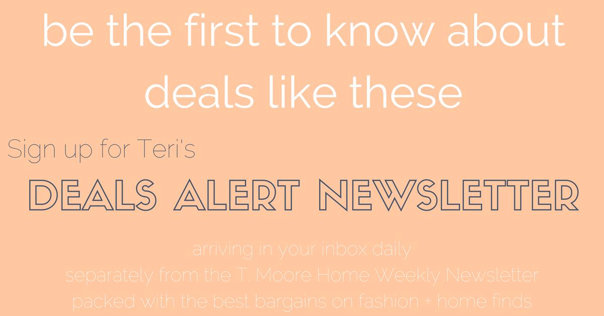 deals alert newsletter