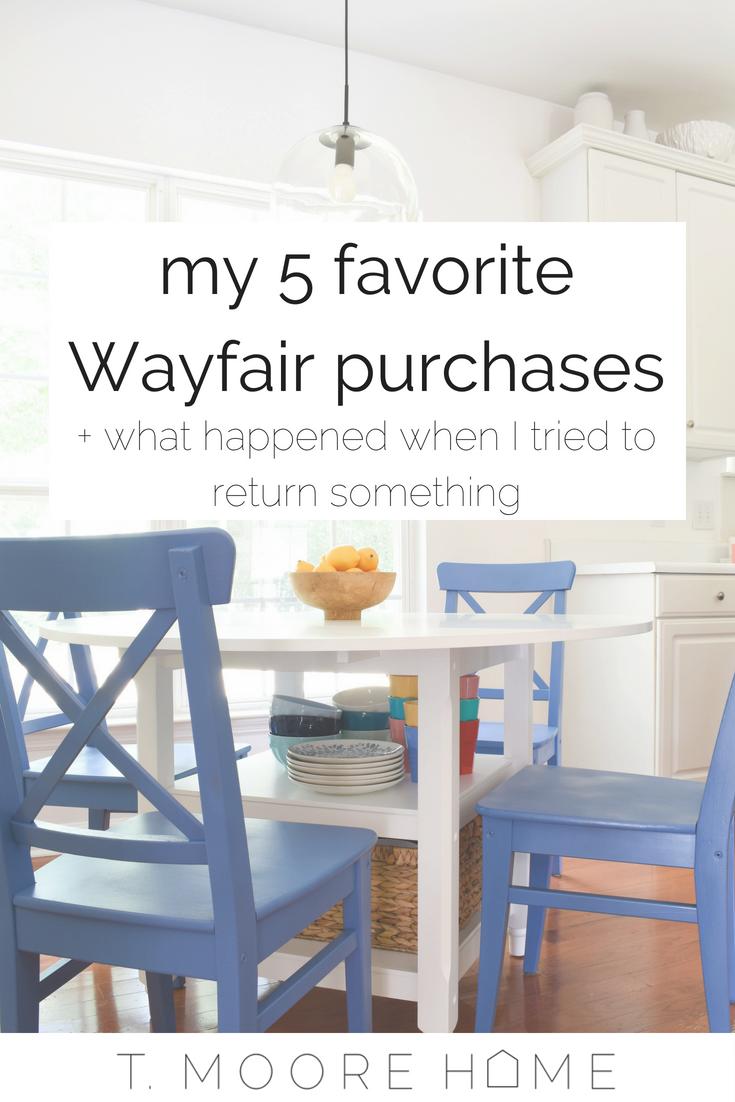 my experience with wayfair returns
