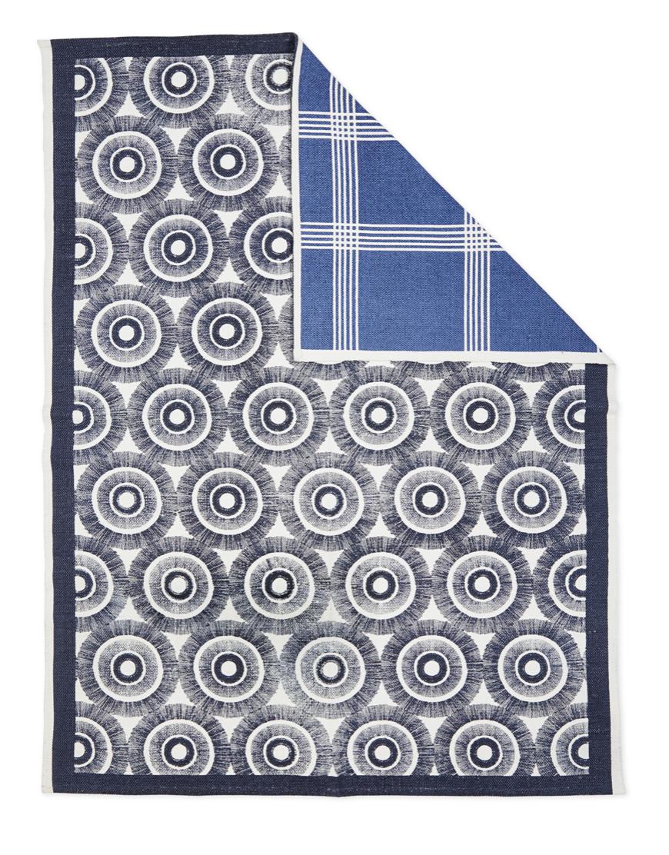 reversible rug navy blue