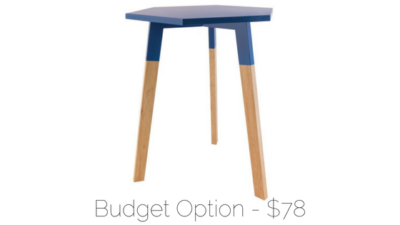 affordable midcentury side table