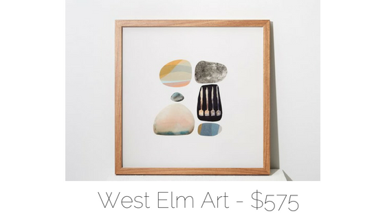 west elm framed print
