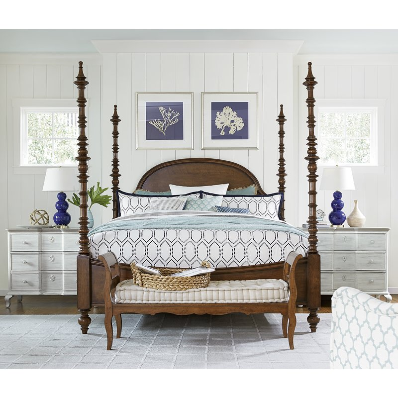 affordable four poster bed