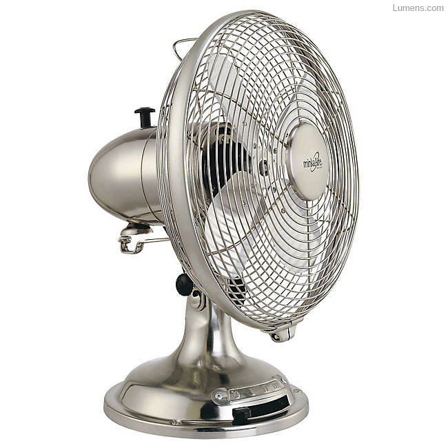 tabletop fan with vintage style