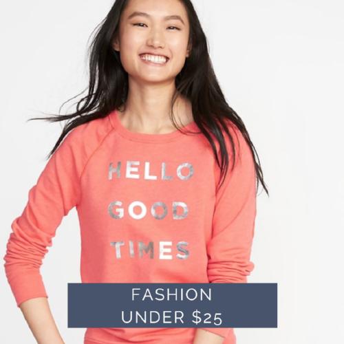 this weeks fashion deals under $25