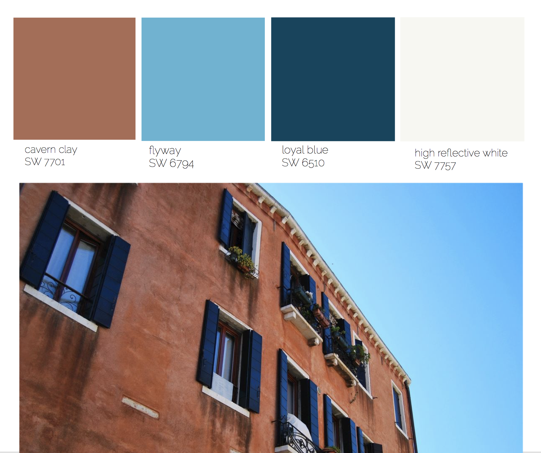 cavern clay sherwin williams color of the year