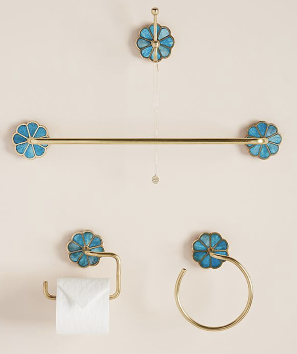 affordable bath hardware - unique and so cute for a renovation of a historic house