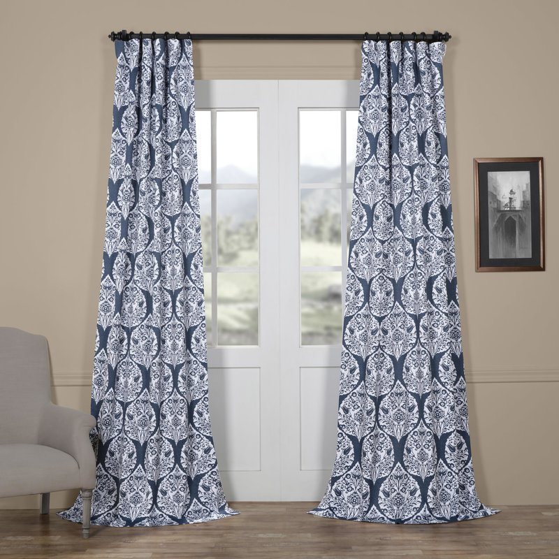 navy blue damask for a traditional home look for a lot less.jpg
