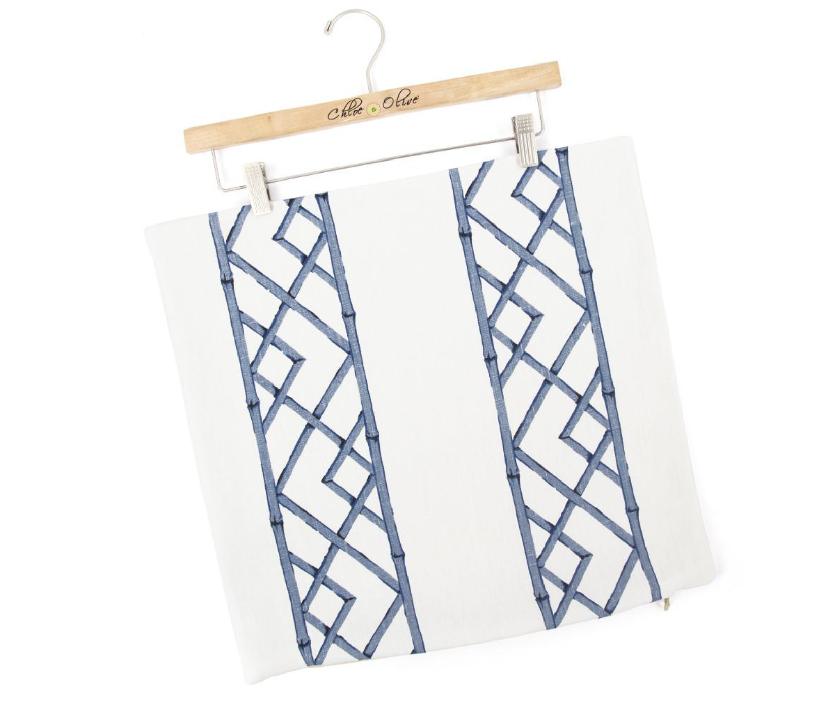bamboo in blue home decor that adds modern chinoiserie style