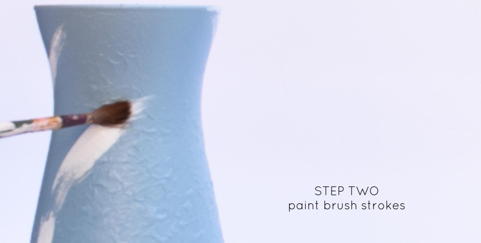 DIY designer vase tutorial