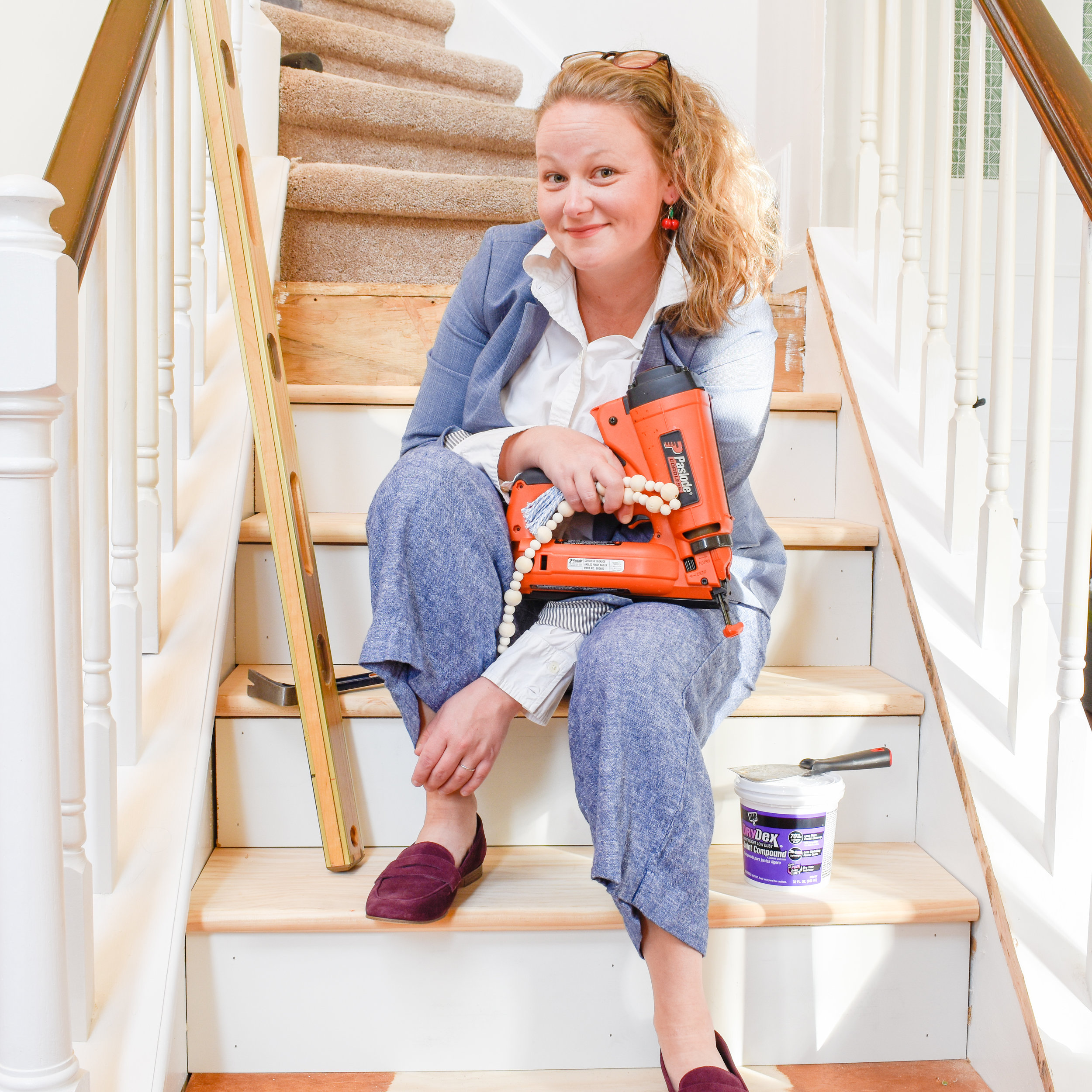 women with power tools - DIY home improvement blogs for women