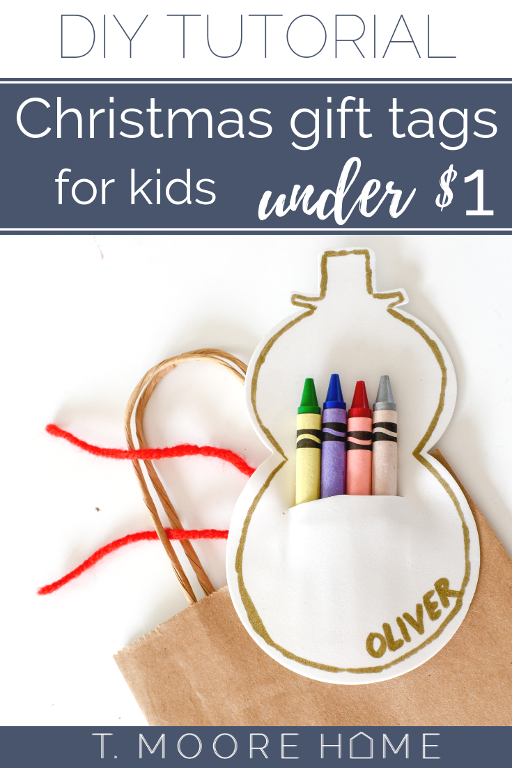 DIY stocking stuffers and gift tags for kids under $1 each