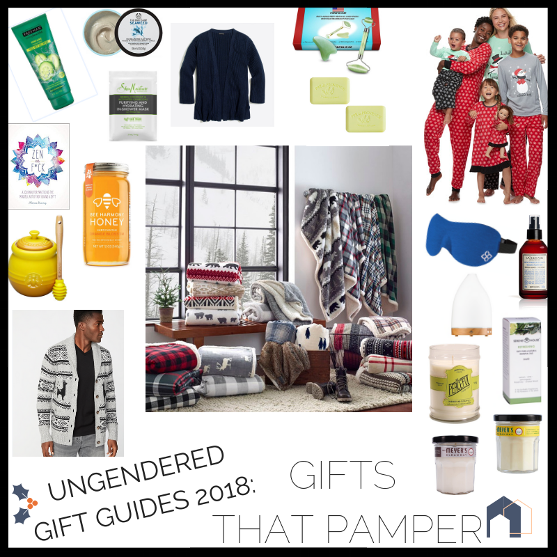 2018 GIFT GUIDES - GIFT IDEAS TO PAMPER YOUR LOVED ONES