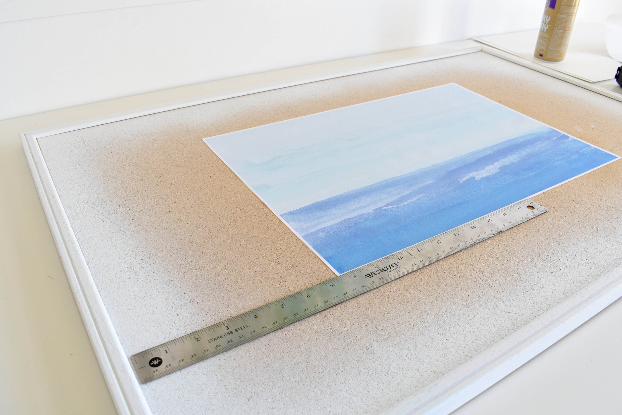 How To Recycle An Old Cork Board Into Nice Art For Your Home   Step by Step DIY Tutorial