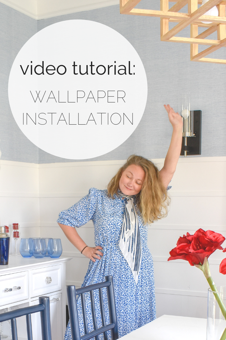 DIY WALLPAPER TUTORIAL