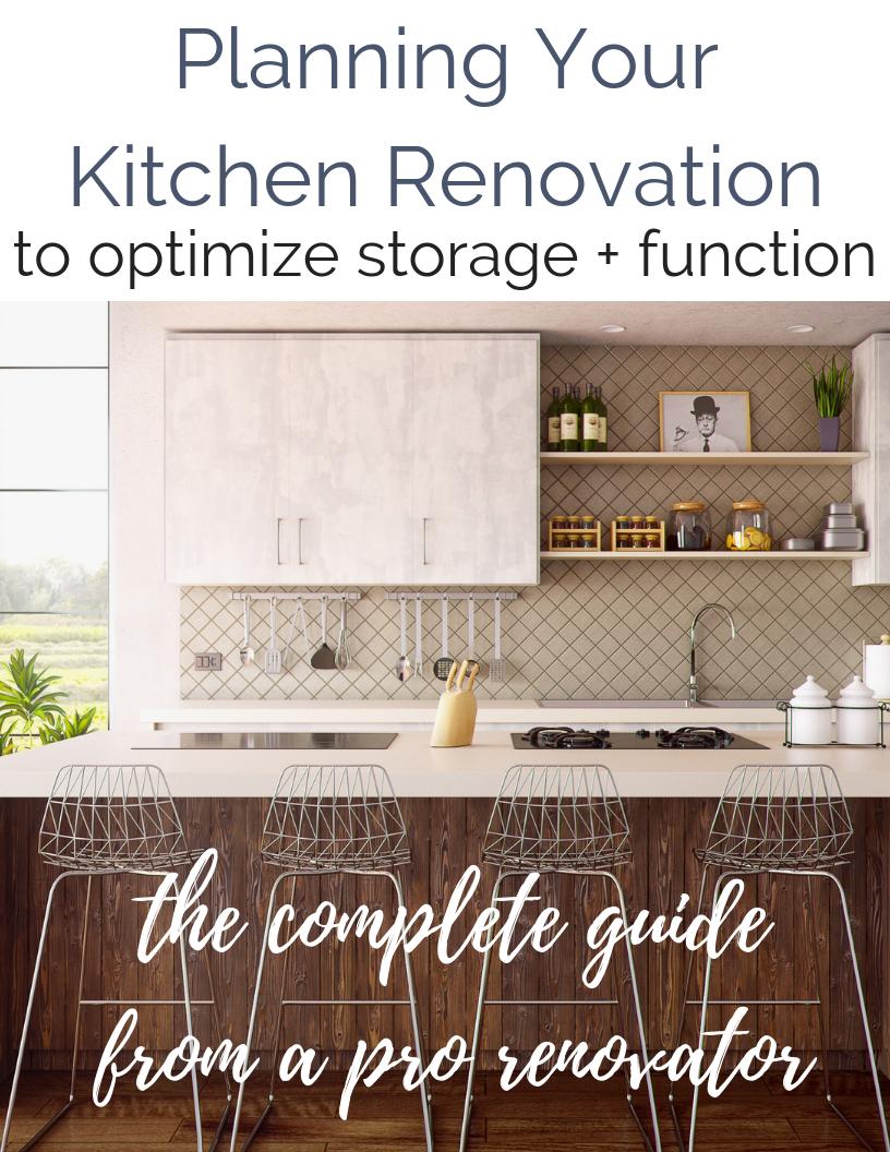 Kitchen Renovation Planning