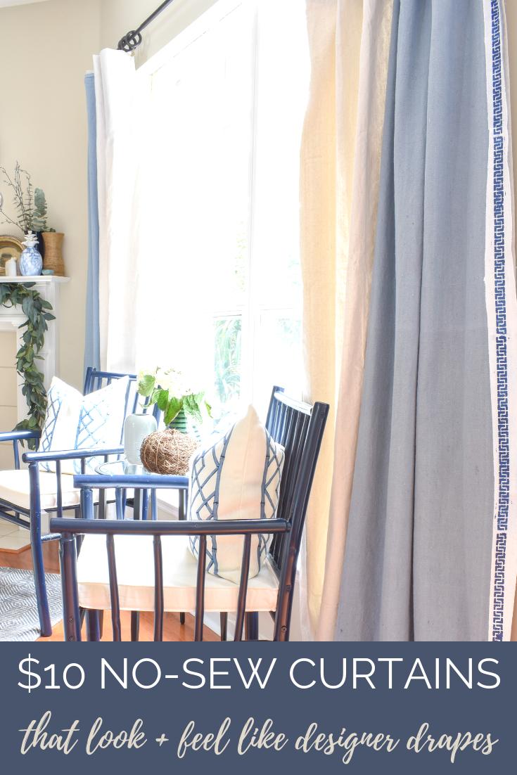 DIY curtain tutorial
