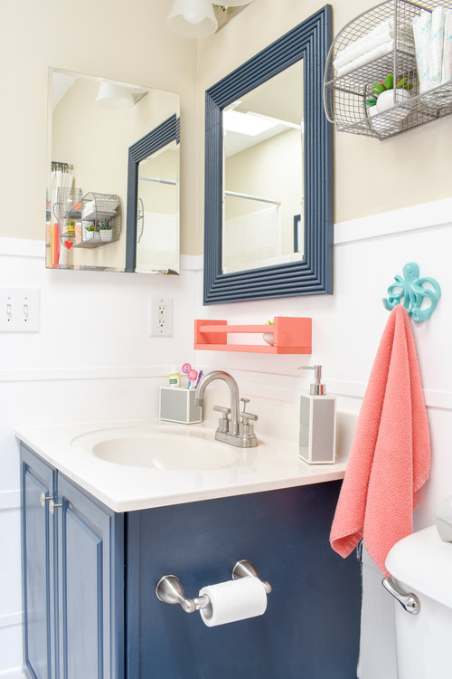 Staging A Kid S Bathroom To