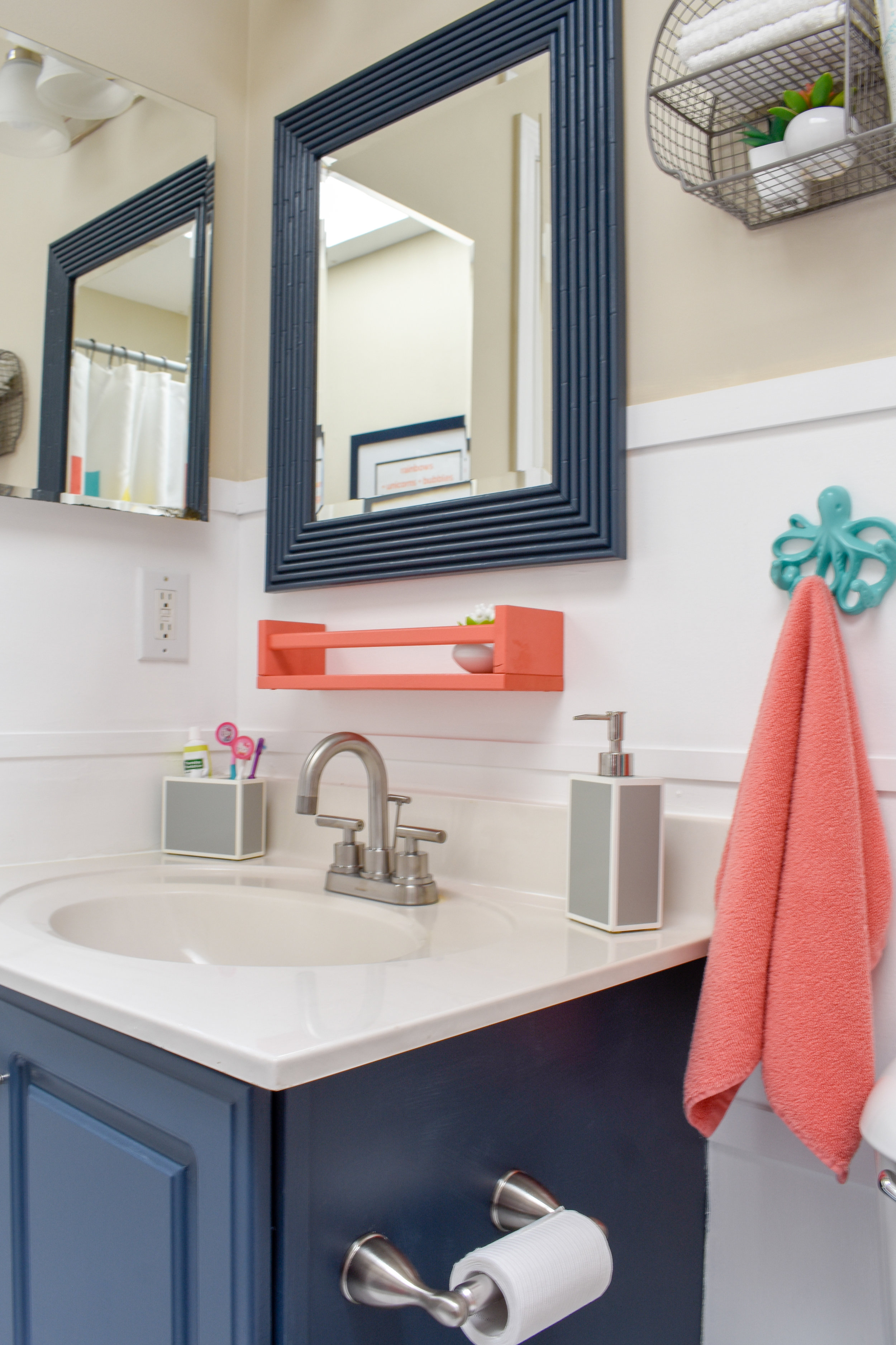 One Day Makeover Staging A Kid S Bathroom To Sell In Just 8 Hours For Under 200 T Moore Home Design Diy And Affordable Decorating Ideas