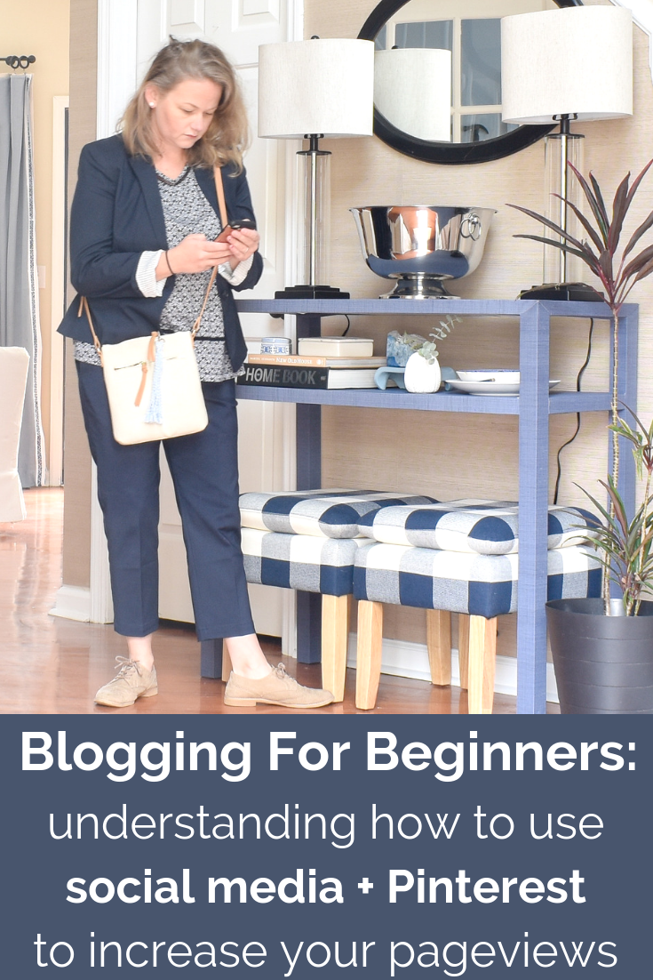 BLOGGING TIPS: How To Increase Your Blog Traffic Through Social Media Platforms and Pinterest - Today I'm showing you my biggest tips for using social media and Pinterest to drive traffic to your blog. Plus I'm giving you a social media content planner that I personally use to keep my social media posts on track. #socialmediamarketing #webtraffic #seotips #bloggingtips