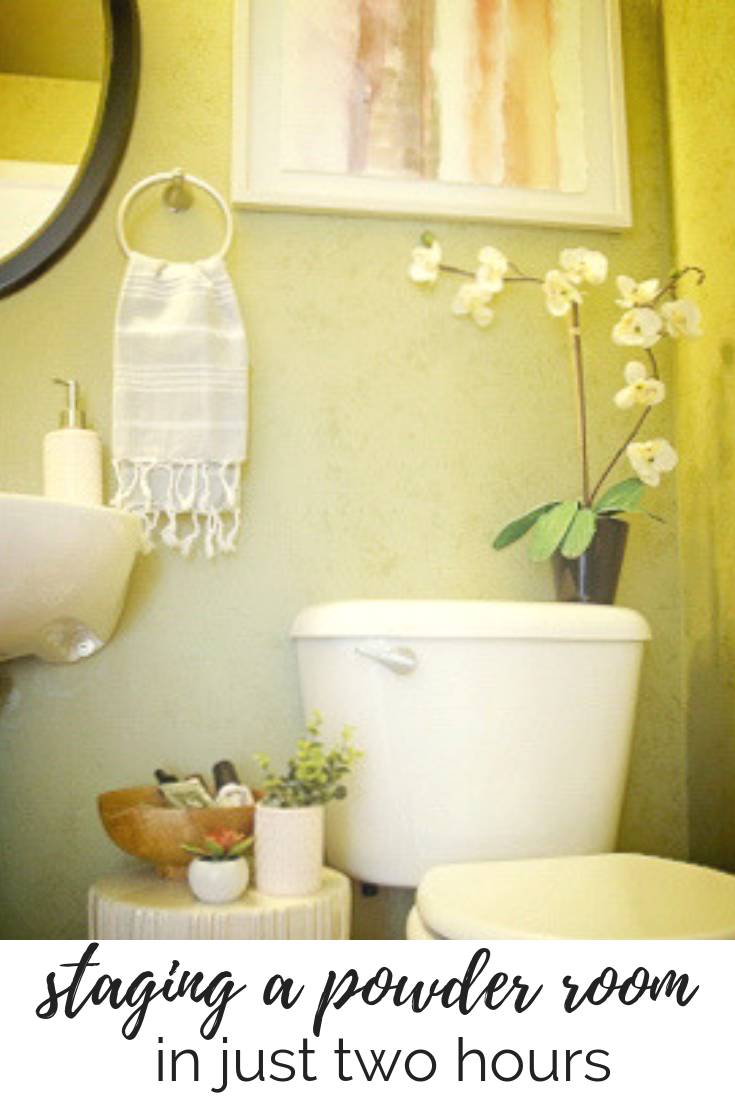 How To Stage A Powder Room — T. MOORE HOME | Design, DIY ...