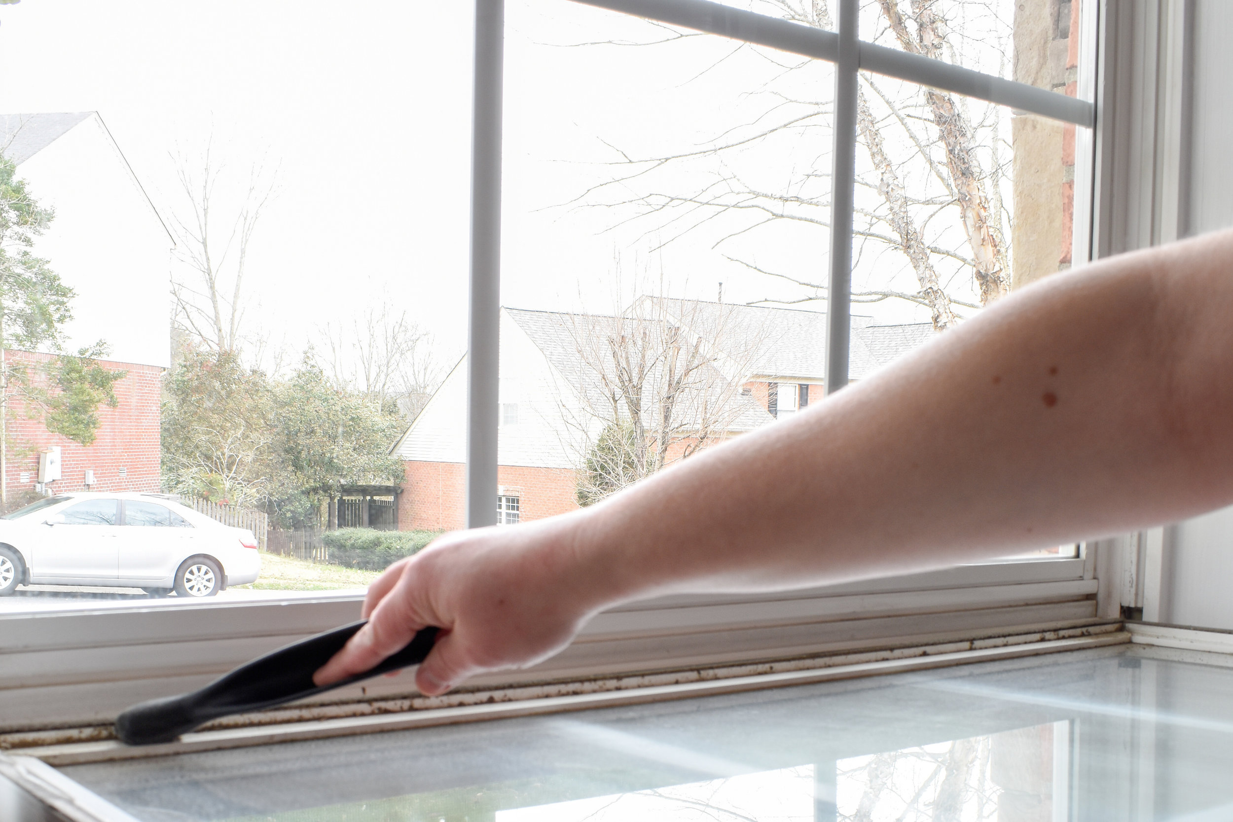 deep cleaning your windows for Spring in 10 minutes or less