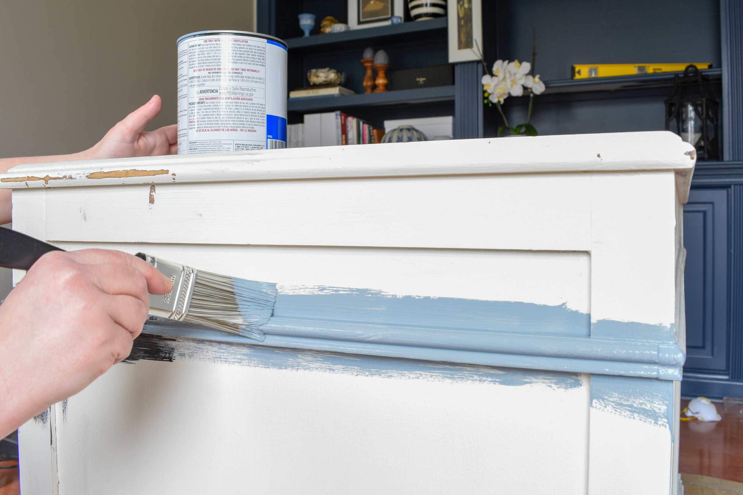 how to get a factory finish without chalk paint